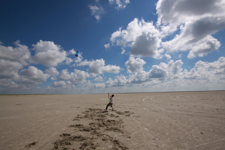 Lenkdrachenfliegen in St. Peter Ording