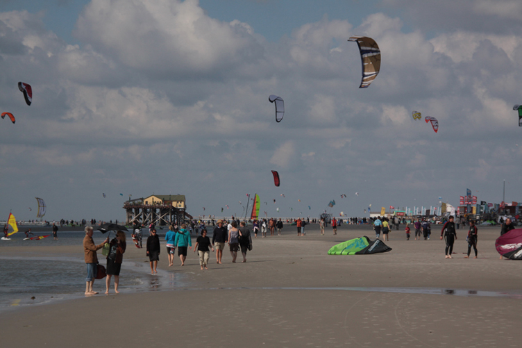 St. Peter Ording, Kite World Cup 2010